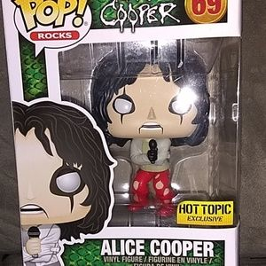 Funko Pop Alice Cooper New in Box